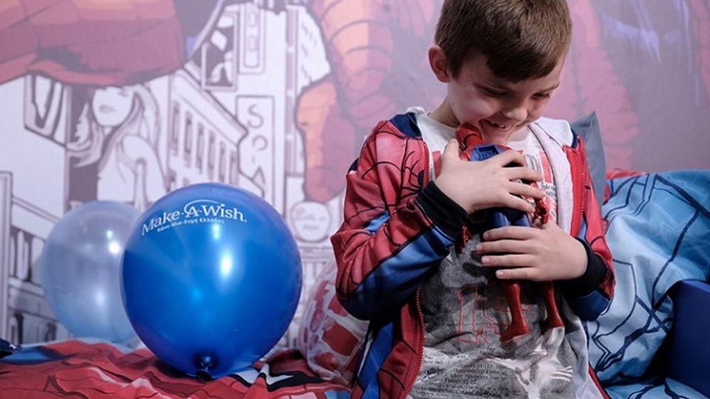 Ο ΟΠΑΠ πραγματοποίησε τις ευχές τριών παιδιών του Make-A-Wish