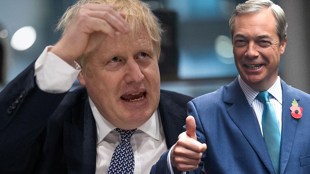 Βρετανία: Το Κόμμα του Μπρέξιτ απέρριψε πρόταση συνεργασίας των Συντηρητικών
