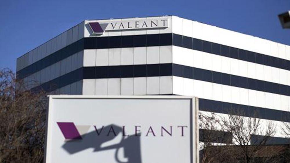 Υπερέβησαν τις εκτιμήσεις τα έσοδα τριμήνου της Valeant