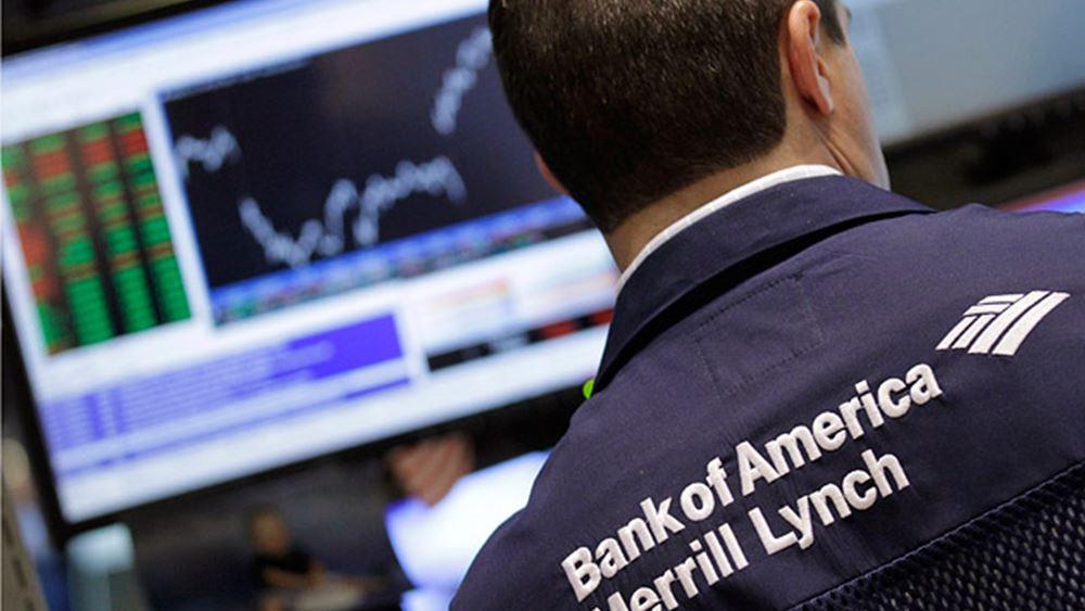 Αυξήθηκαν 6% τα κέρδη τριμήνου της Bank of America Corp