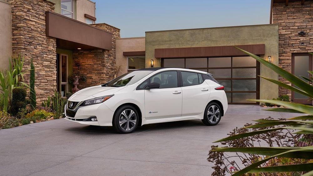Κορυφαία βαθμολογία για το Nissan Leaf