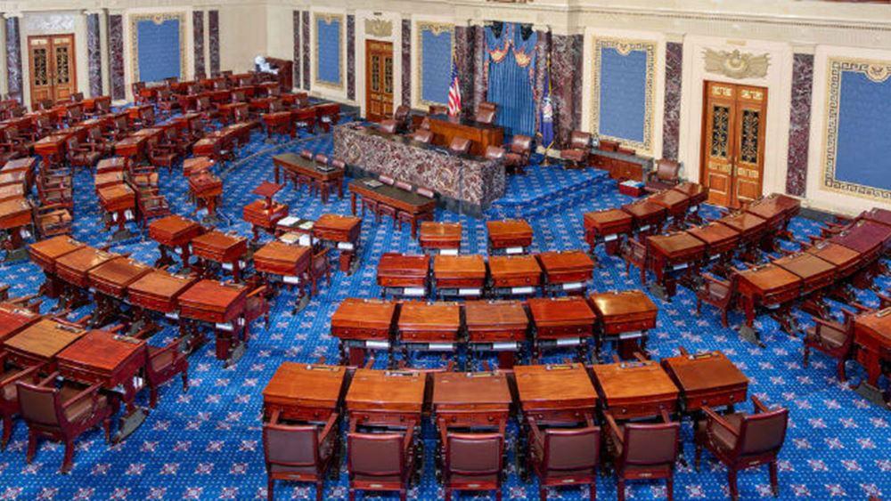 ΗΠΑ: Η Γερουσία αναμένεται να ψηφίσει την επόμενη εβδομάδα ένα στοχευμένο οικονομικό πακέτο βοήθειας $500 δισ.