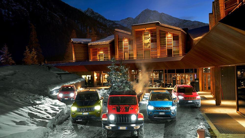 Η γκάμα της Jeep® παίρνει… τα (χιονισμένα) βουνά!