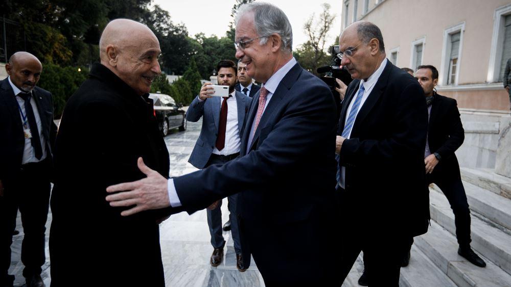Συνάντηση με τον Τασούλα έχει ο πρόεδρος της λιβυκής βουλής των αντιπροσώπων