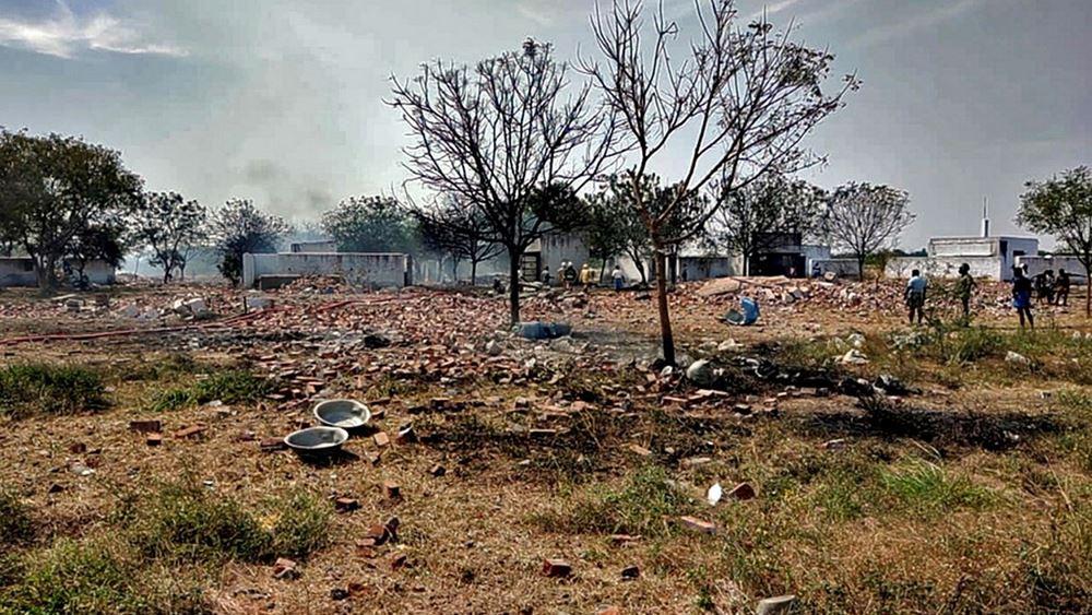 Ινδία: Τουλάχιστον 19 νεκροί από έκρηξη σε εργοστάσιο βεγγαλικών