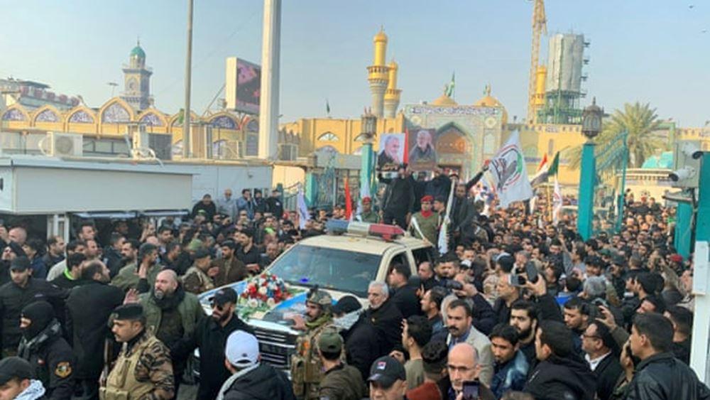 Ιράν: Δεσμεύεται η Τεχεράνη να πάρει εκδίκηση μετά τον φόνο του Σουλεϊμανί