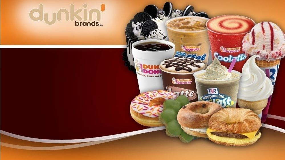 Dunkin Brands: Αυξήθηκαν κέρδη και έσοδα στο τρίμηνο