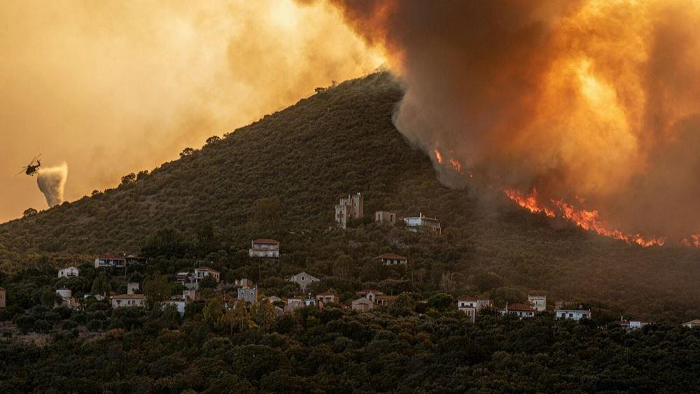 Υπό μερικό έλεγχο η πυρκαγιά στους Ασβεστάδες Διδυμοτείχου