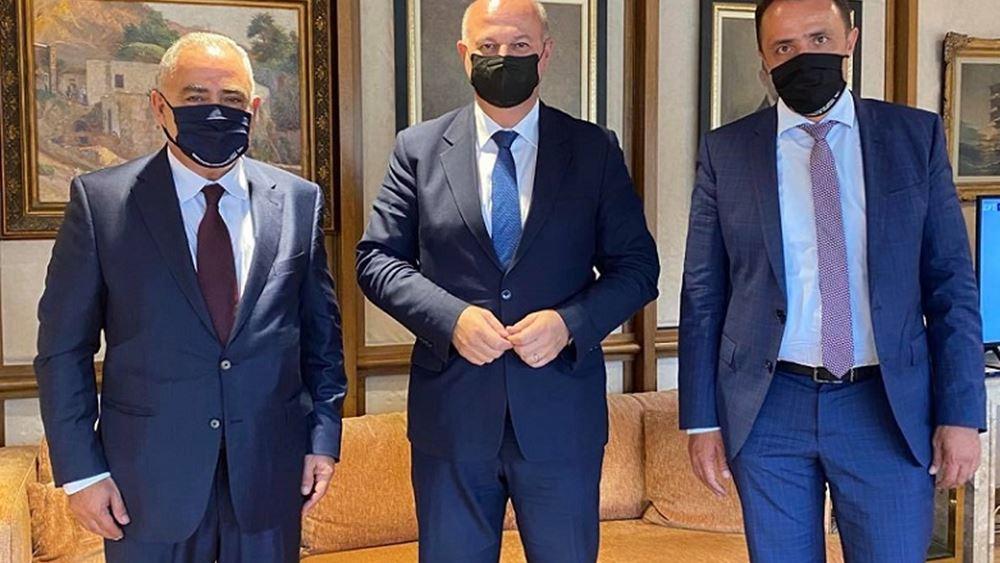 Συνάντηση του προέδρου του ΕΕΑ με τον υπουργό Δικαιοσύνης