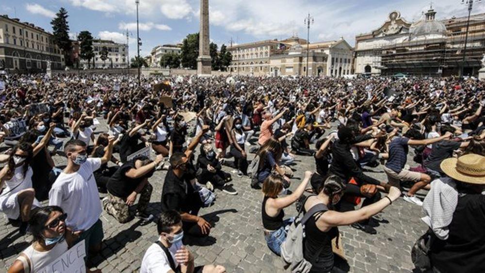 Ιταλία: Διαδήλωση κατά του ρατσισμού στη Ρώμη
