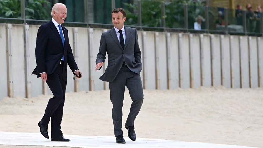 AUKUS: Επικοινωνία Μακρόν με Μπάιντεν - Επιστρέφει στις ΗΠΑ ο Γάλλος πρέσβης