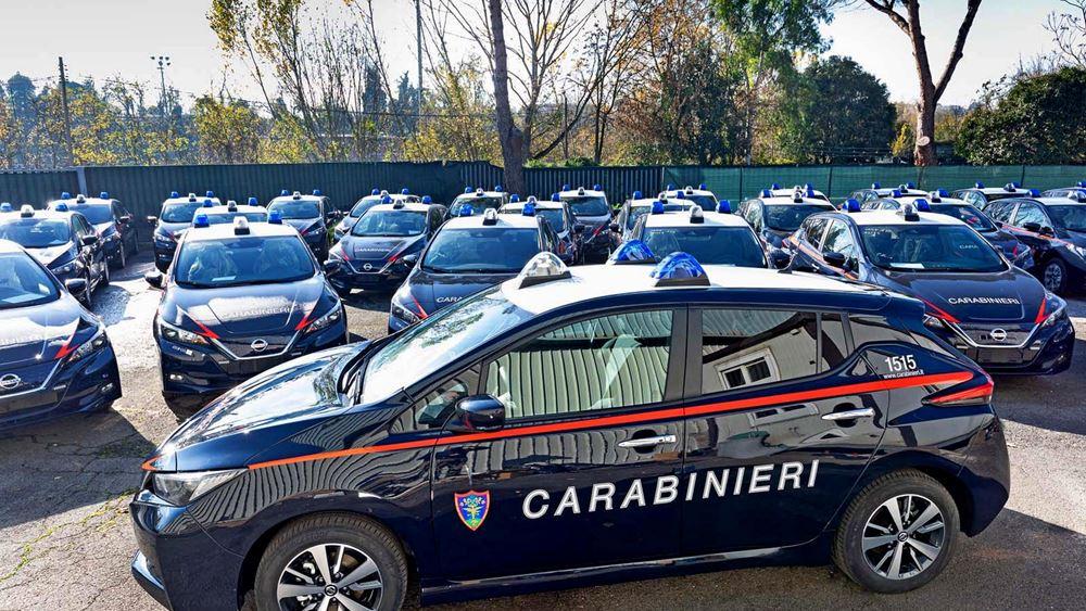 Οι Carabinieri στην Ιταλία μπαίνουν στην πρίζα!