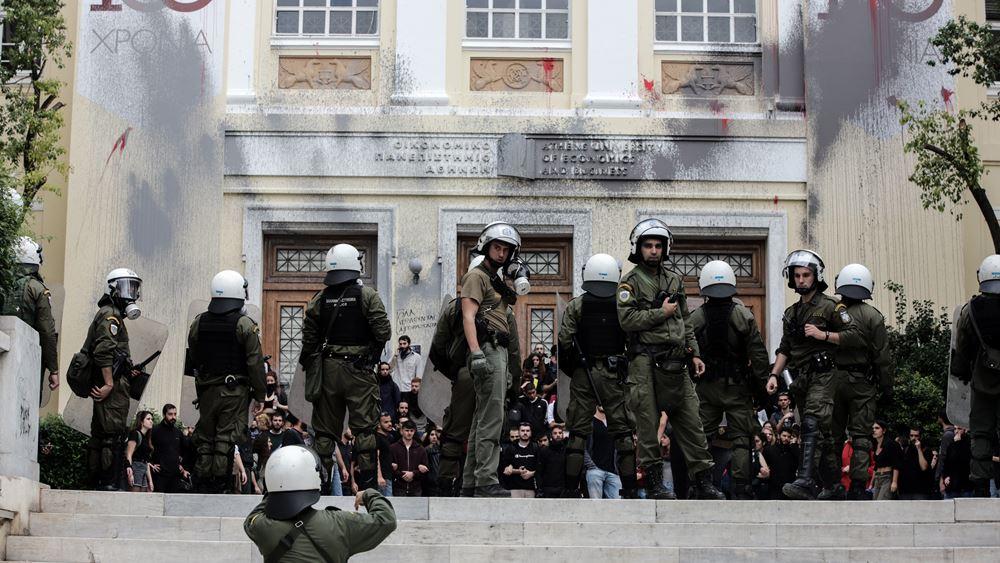 """Το σχέδιο της Αστυνομίας μετά την ΑΣΟΕΕ και η """"πρόβα"""" ενόψει Πολυτεχνείου"""