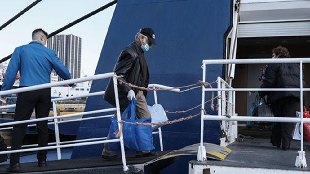 Κανονικά από το μεσημέρι τα δρομολόγια των πλοίων