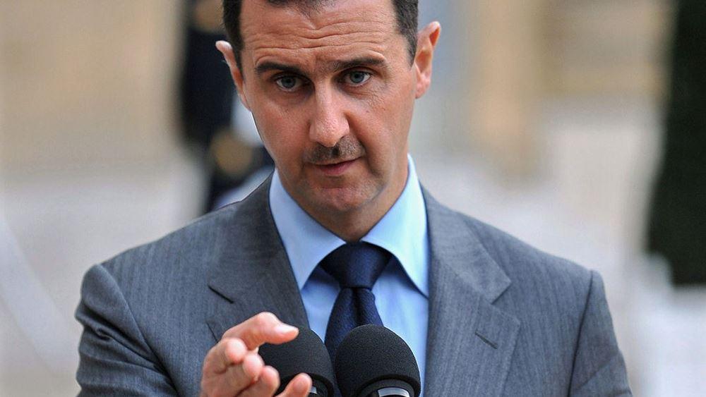 """Άσαντ: Οι ΗΠΑ θα """"πουλήσουν"""" τις οργανώσεις που βασίζονται σ' αυτές"""