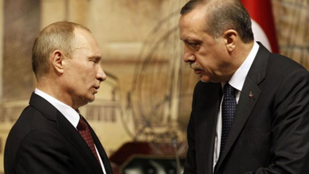 Ο Ερντογάν κάλεσε τους Πούτιν - Ποροσένκο να βρουν διπλωματική λύση
