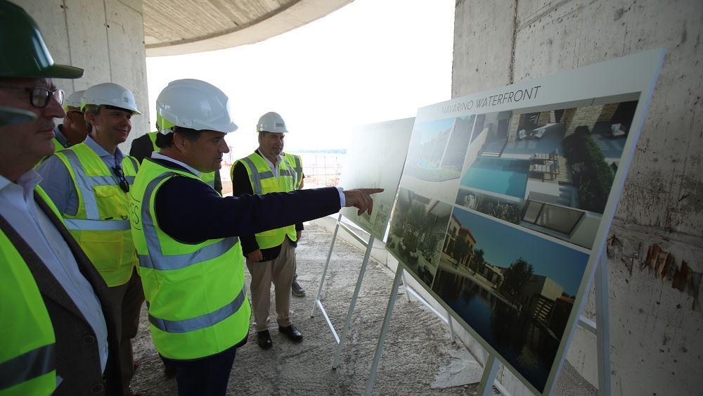 Το Costa Navarino επισκέφθηκε ο Άδ. Γεωργιάδης - Ενημερώθηκε για τις νέες επενδύσεις