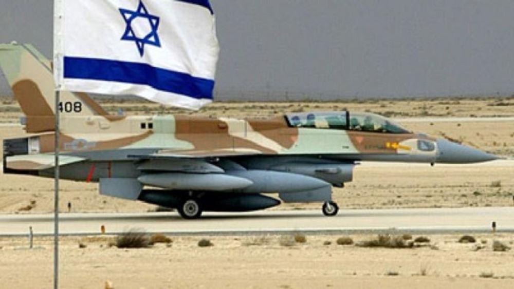 Ισραήλ: Αεροπορικές επιδρομές εξαπέλυσε η πολεμική αεροπορία εναντίον στόχων της Χαμάς στη Λωρίδα της Γάζας