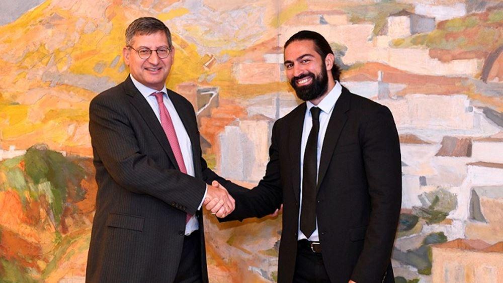 Η Εθνική Τράπεζα στηρίζει τον κορυφαίο Παραολυμπιονίκη στίβου Μιχάλη Σεϊτη