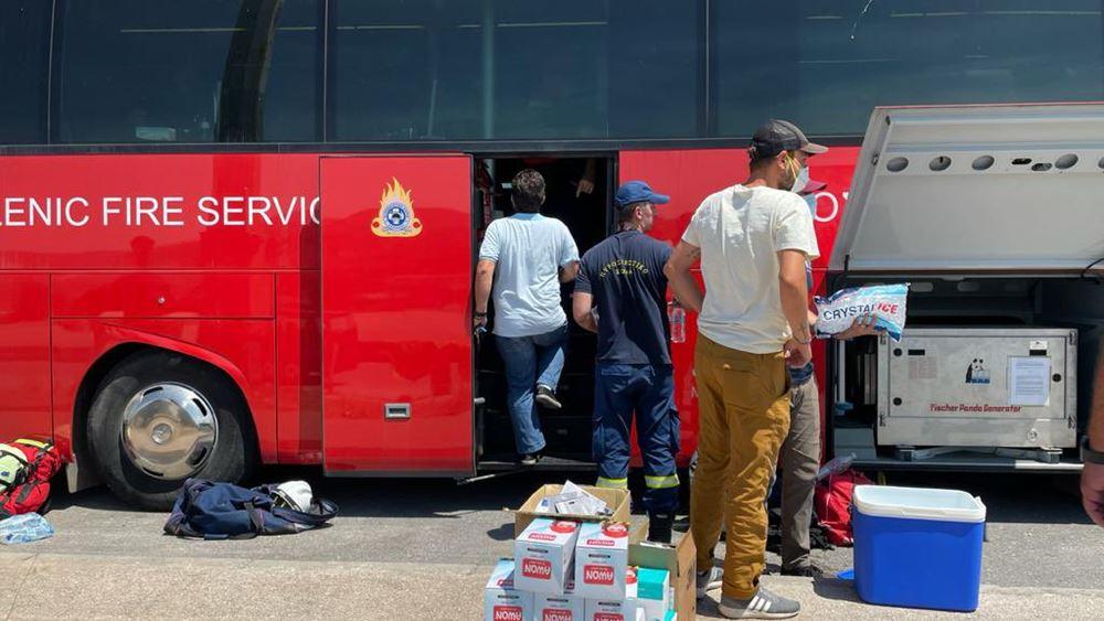Δωρεά Π. Λασκαρίδη ύψους 1 εκατ. ευρώ σε πυρόπληκτους και Πυροσβεστικό Σώμα