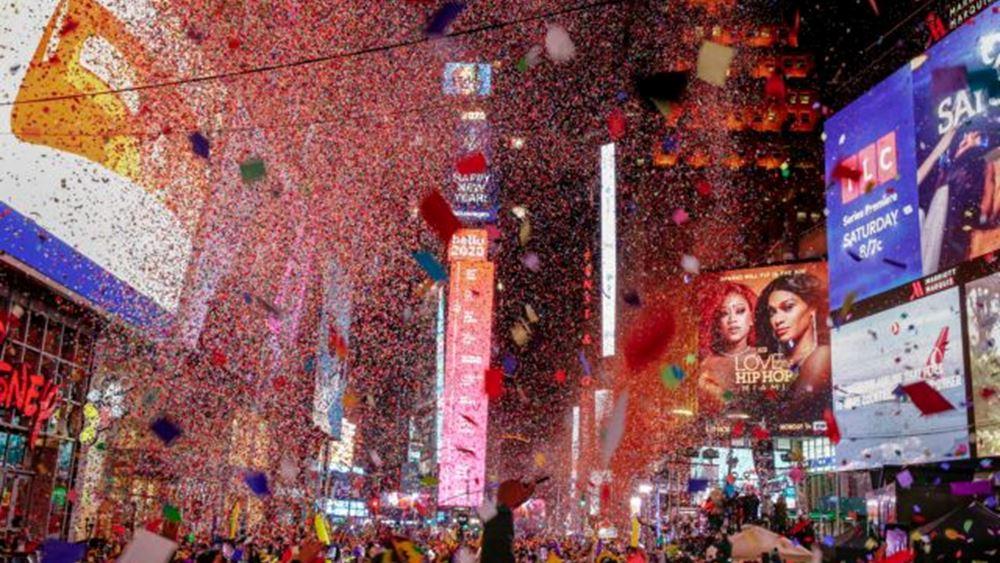 Η υφήλιος υποδέχτηκε το νέο έτος