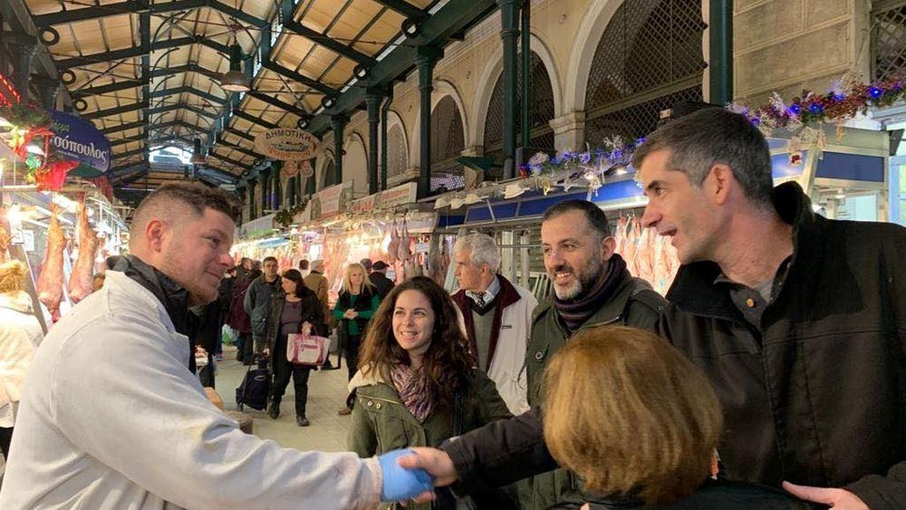 Κ. Μπακογιάννης: Η Βαρβάκειος θα γίνει σημείο αναγέννησης του εμπορικού κέντρου της Αθήνας