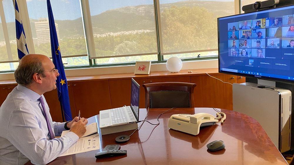 Συζήτηση Κωστή Χατζηδάκη με τις περιβαλλοντικές οργανώσεις