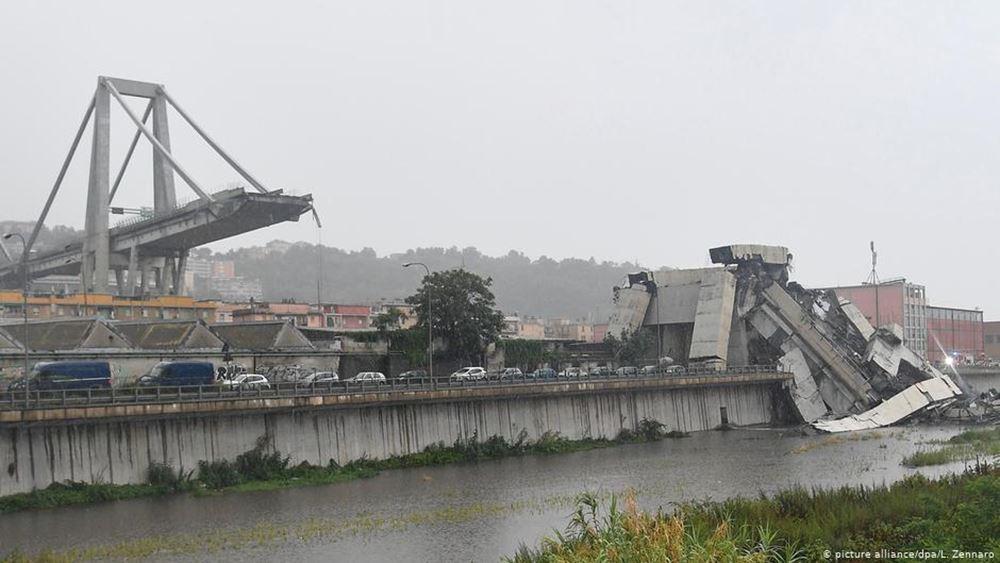 Ιταλία: Ένας χρόνος από την κατάρρευση της γέφυρας Μοράντι στη Γένοβα