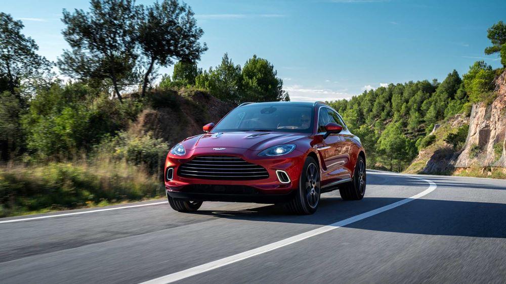 Μεγάλο στοίχημα η επιτυχία του SUV της Aston Martin, αξίας 190.000 δολαρίων