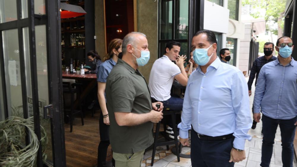 Γεωργιάδης: Θα είμαστε δίπλα στους επαγγελματίες της εστίασης μέχρι όλα να γίνουν όπως πριν