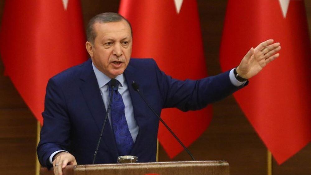 """Ερντογάν: Όσοι δεν """"βλέπουν"""" στρατιωτική λύση στη Συρία, να αποσύρουν τα στρατεύματά τους"""
