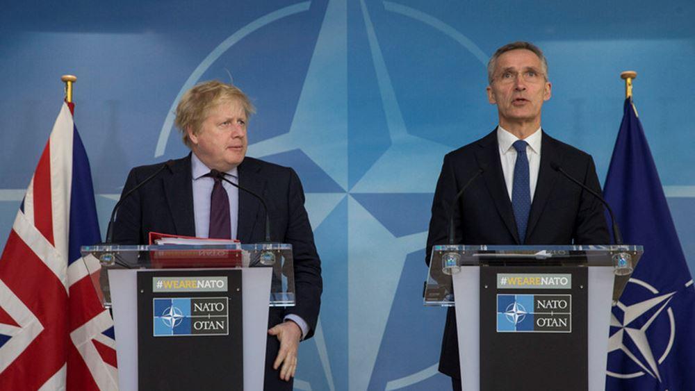 Τζόνσον - Στόλτενμπεργκ: Να σταματήσει η τουρκική εισβολή στη Συρία