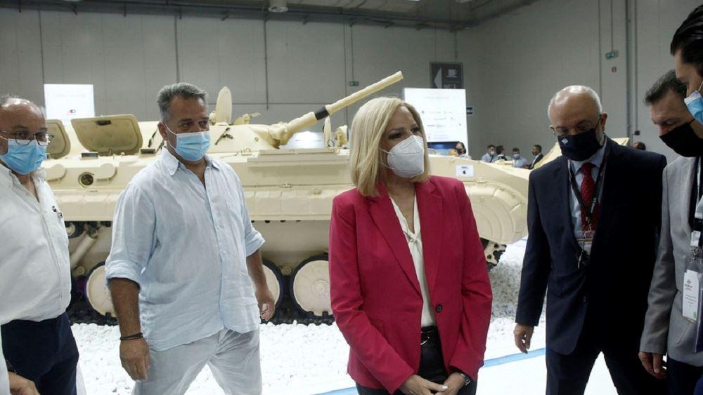 Φ. Γεννηματά: Με στρατηγικό σχεδισμό η επανεκκίνηση της αμυντικής βιομηχανίας