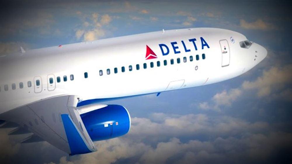 Delta Air Lines: Καλύτερα των εκτιμήσεων κέρδη και έσοδα δ΄ τριμήνου