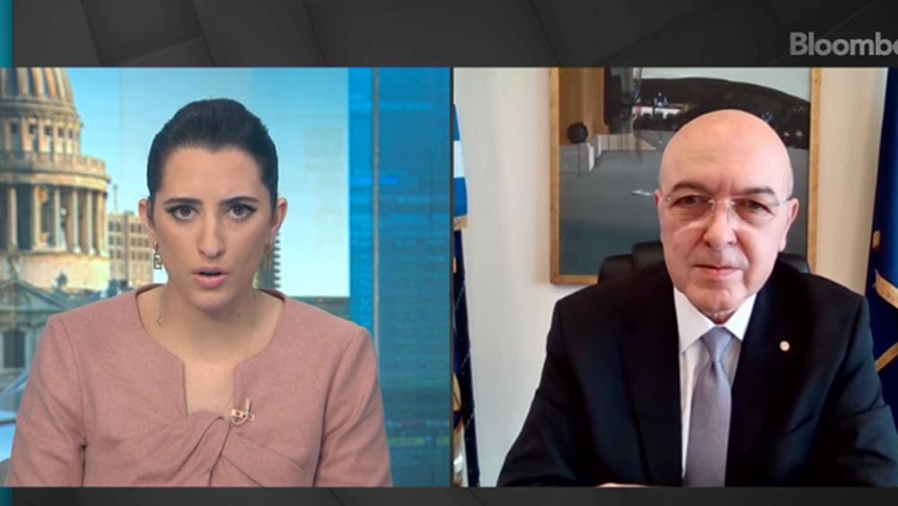 Φραγκογιάννης στο Bloomberg: H Ελλάδα αποτελεί επενδυτικό προορισμό για παγκόσμιους κολοσσούς