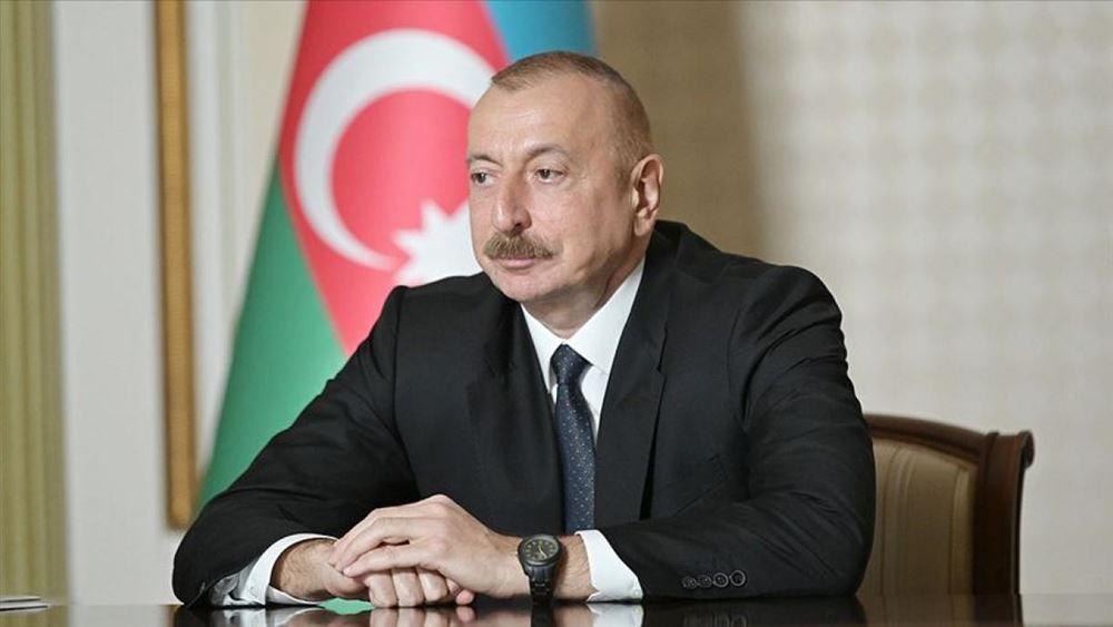 Αζερμπαϊτζάν: Δεν διεξάγονται στρατιωτικές επιχειρήσεις στο έδαφος της Αρμενίας δηλώνει ο πρόεδρος  Αλίεφ