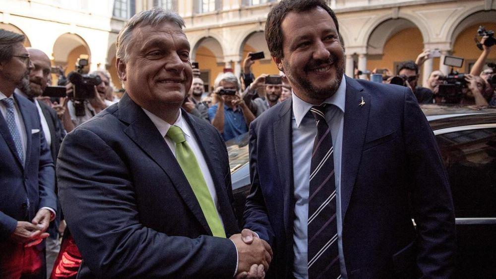 """Ευρωπαϊκή """"διεθνή"""" της εθνικιστικής Δεξιάς ετοιμάζουν Ορμπάν - Μοραβιέτσκι με τον Σαλβίνι της Λέγκα"""