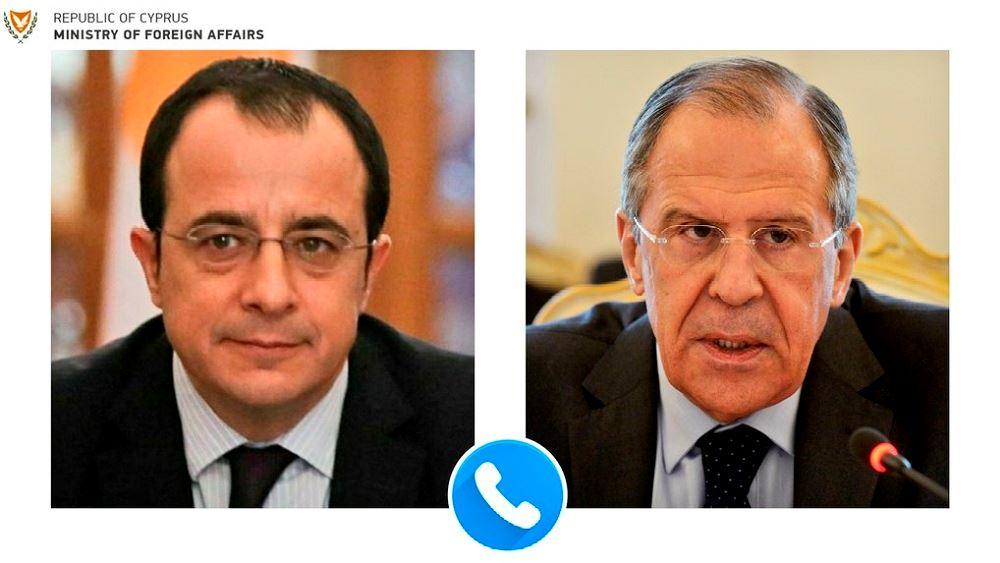 Κύπρος: Τηλεφωνική Επικοινωνία Χριστοδουλίδη με τον Ρώσο ΥΠΕΞ Σεργκέι Λαβρόφ