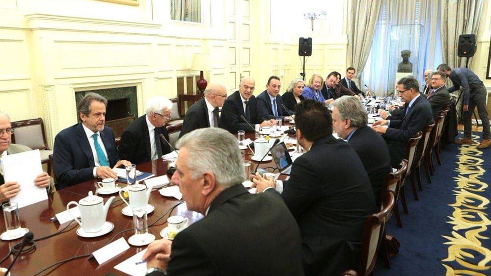Σε κλίμα σύμπνοιας και ομόνοιας το Εθνικό Συμβούλιο Εξωτερικής Πολιτικής
