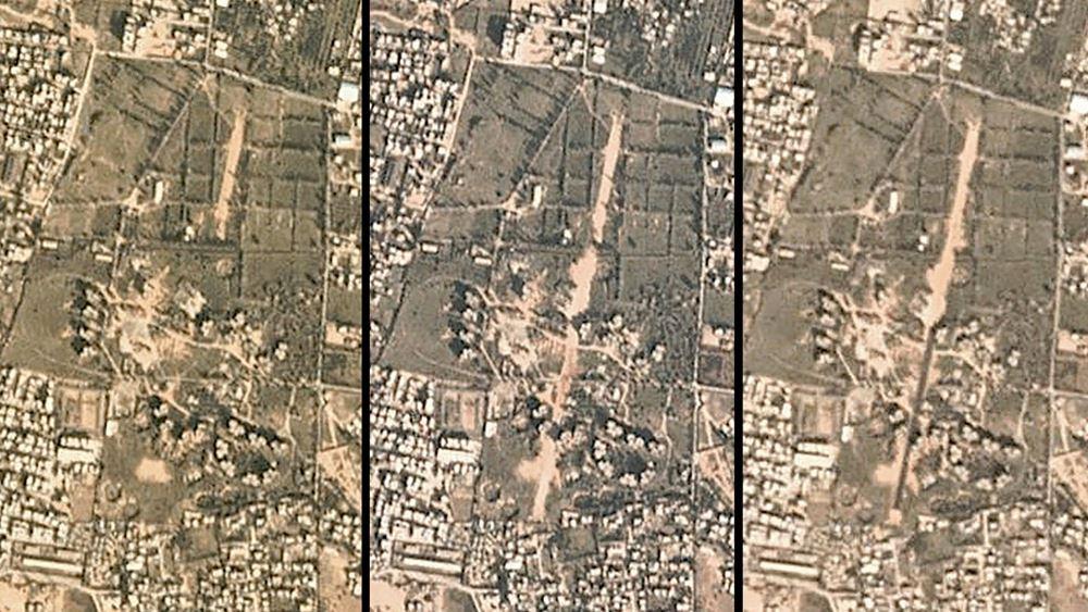 """Λιβύη: """"Πολλές"""" ρουκέτες έπληξαν την Τρίπολη και το αεροδρόμιο της"""