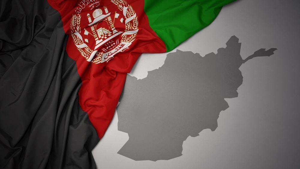 Αφγανισταν σημαια χαρτης