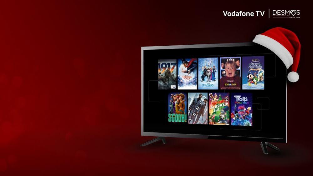 Το Vodafone TV δωρίζει τα έσοδα από τις ενοικιάσεις ταινιών σε συνανθρώπους μας που έχουν ανάγκη