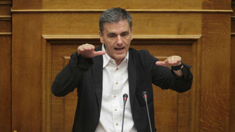 Ευ. Τσακαλώτος: Οι τράπεζες να διαθέσουν μετοχές και στους Έλληνες επενδυτές
