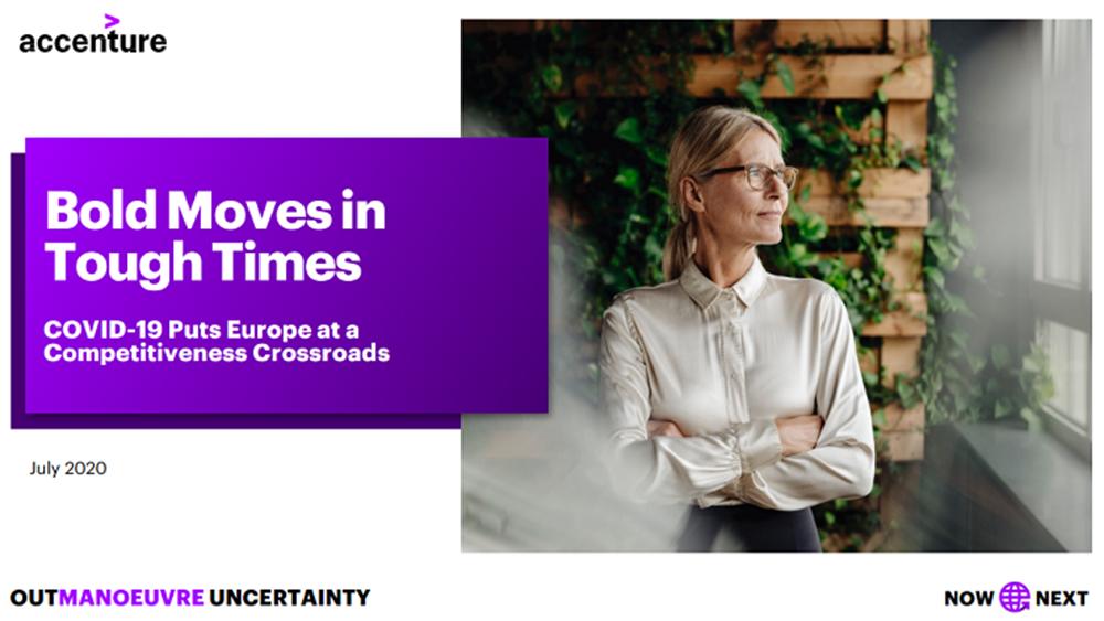 Μελέτη Accenture: Αισιόδοξοι για την ανάκαμψη στην Ευρώπη οι επικεφαλής των επιχειρήσεων
