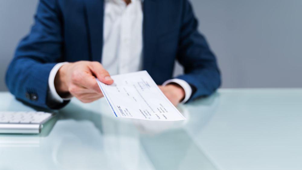Τι προβλέπει η τροπολογία για την αναστολή των επιταγών για 75 ημέρες