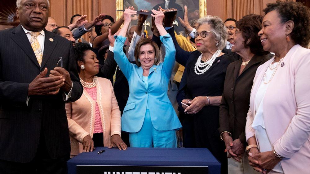 Νέα εθνική αργία στις ΗΠΑ με υπογραφή Μπάιντεν - Στις 19 Ιουνίου θα τιμάται η ημέρα κατάργησης της δουλείας
