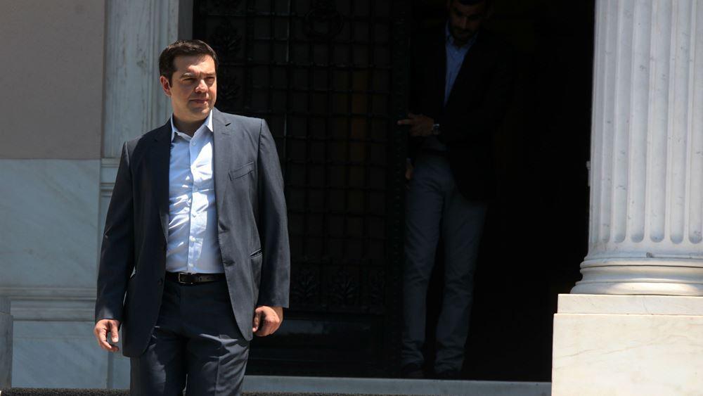 Από το Μαξίμου θα παρακολουθήσει ο Τσίπρας τα exit polls