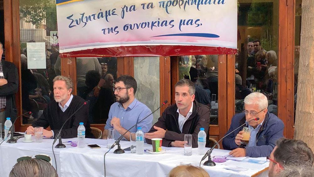 Κ. Μπακογιάννης: Η Αθήνα αλλάζει μόνο από κάτω προς τα πάνω