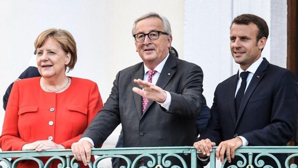 Έκκληση Μέρκελ για ενίσχυση της ΕΕ - Επέκρινε τον προστατευτισμό