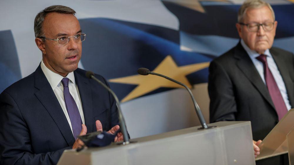 """""""Έμπρακτη και αταλάντευτη αλληλεγγύη"""" από τους Ευρωπαίους ζήτησε ο Σταϊκούρας"""